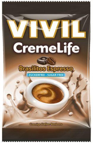 "Vivil CremeLife ""Brasilitos"" mit Espresso-Aroma. 110 Gramm."