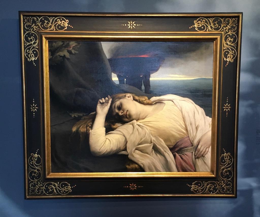 Isolde 1894 von Gabriel von Max 1840-1915 Sammlung Ferdinand Wolfgang Neess