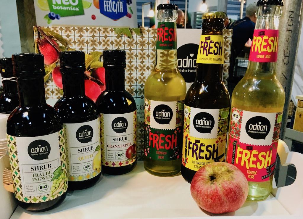 Adrian Shrub und Fresh aus Fruchtessigen ProFachhandel 2019 Nürnberg ©Oliver Numrich