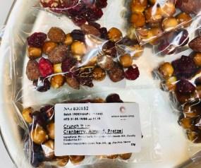 Bösch Boden Spies Snackex 2019 Crunch it up Cranberry Mandel und Brezel