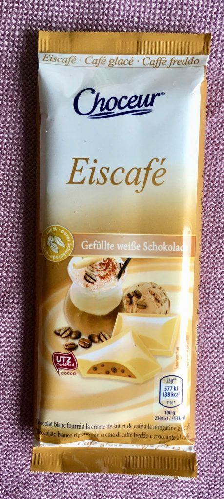 Choceur Eiscafé Gefüllte weiße Schokolade 100 Gramm
