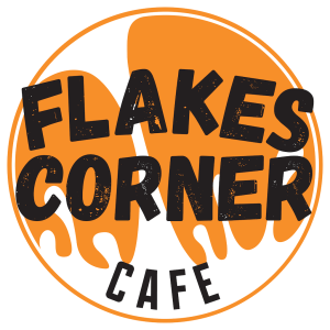 Logo des Falkes Corner Cafés.
