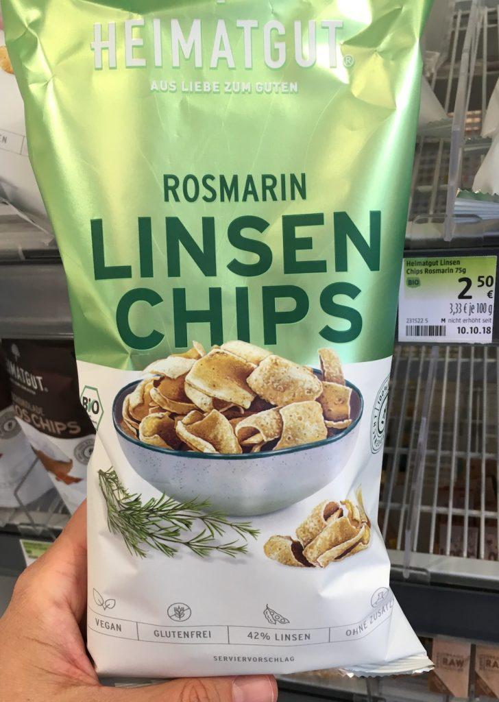 Heimatgut Rosmarin Linsenchips