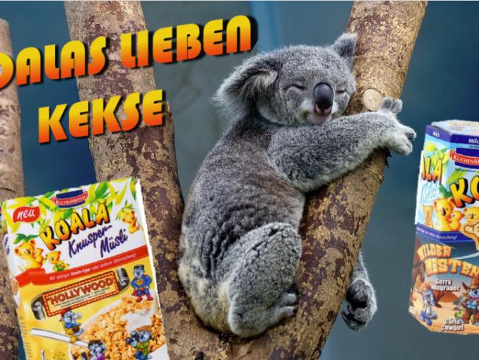 """Collage """"Koalas lieben Kekse"""" von naschkater.com"""