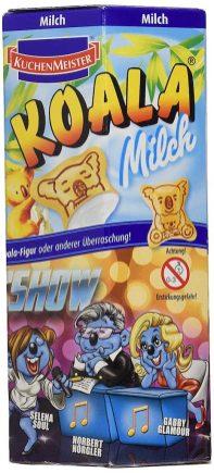 Kuchenmeister Koala-Kekse Milch Motiv Castingshow