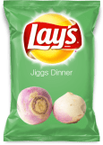 Lay's Jiggs Dinner