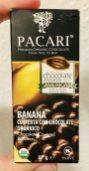 Pacari Ecuador Banana Cubierta con Chocolate Organico 57 Gramm