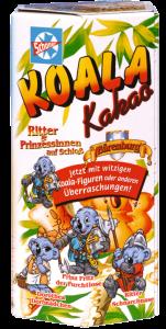 Schöller Koala Kakao, Motiv Ritter und Prinzessinen auf Schloss Bärenburg