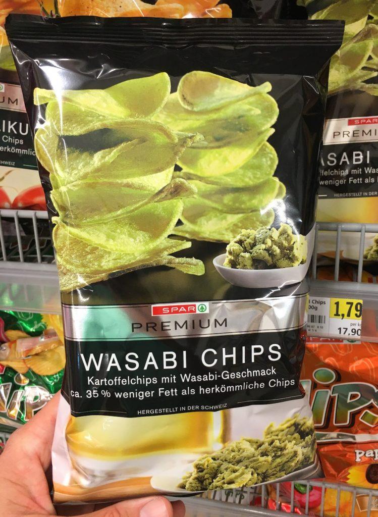 Spar Premium Wasabi Kartoffelchips 35% weniger Fett
