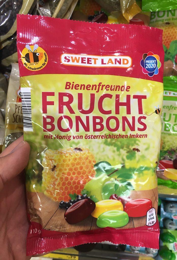 Sweetland Bienenfreunde Fruchtbonbons 110 Gramm