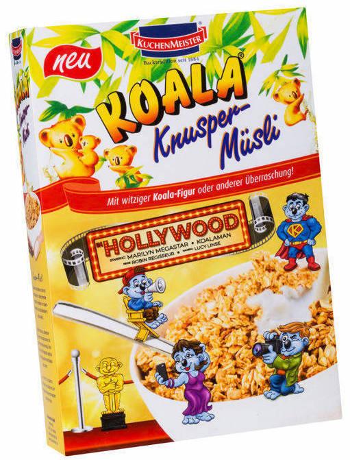 Kuchenmeister Koala Hollywood Knuspermuesli