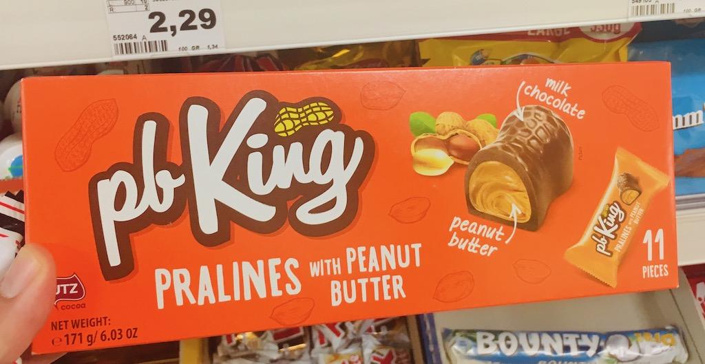 pbKing Pralines mit Erdnussbutter 11 Stück
