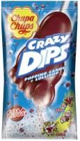 ChupaChups Crazy- Dips Cola-Geschmack Fußform