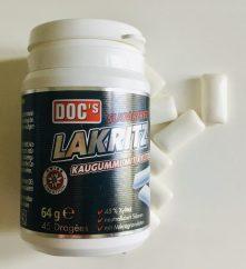 DOC's Lakritz Kaugummi mit Xylit Zuckerfrei 64 Gramm