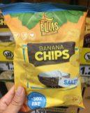 Ellis Banana Chips salty -30% Fat