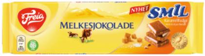 Freia Melkesjokolade SMIL Salted Karamell