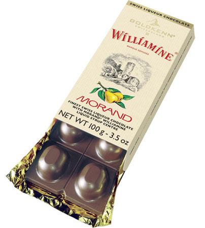 Goldkenn Morand Birnenbrand Tafelschokolade