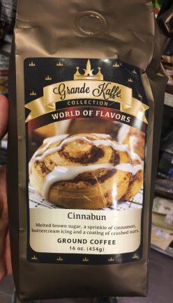 Grande Kaffé Collection World of Flavors Cinnabun Ground Coffee 434 Gramm