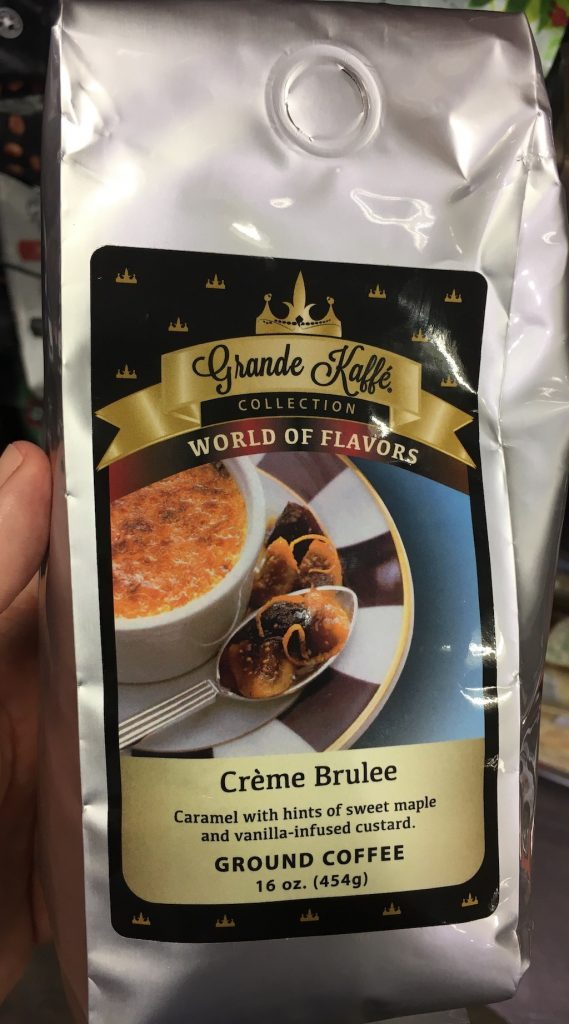 Grande Kaffé Collection World of Flavors Créme Brulee Ground Kaffee
