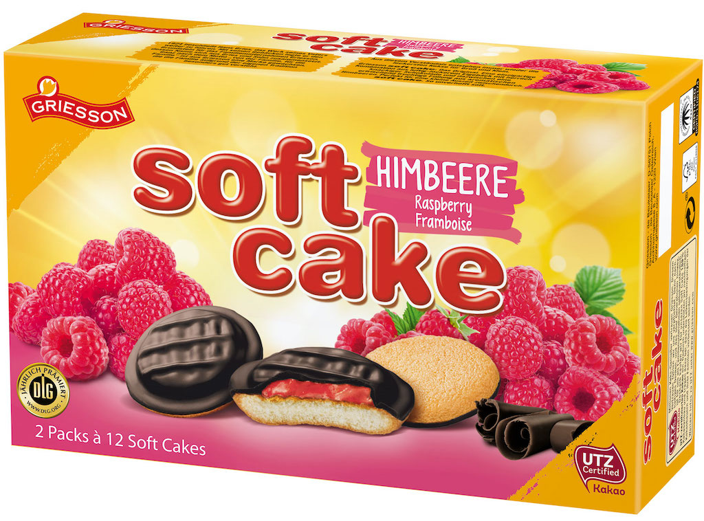 Griesson Soft Cake Himbeere DLG-prämiert