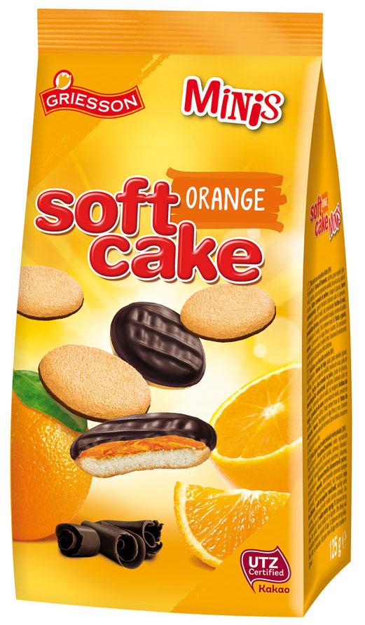 Griesson Soft Cake Orange Minis Standbeutel 125g