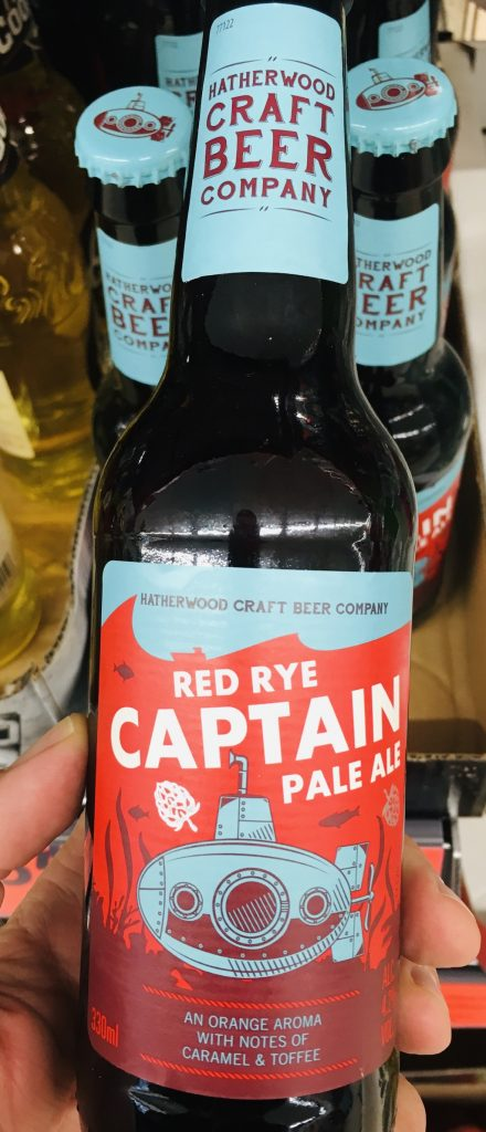 Hatherwood Craft Beer Company Red Rye Captain Pale Ale Flaschenbier