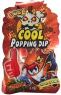 International Sweet Trading Köthen Cool Popping Dip Brauspulver mit Knistereffekt Erdbeere Thunbs up