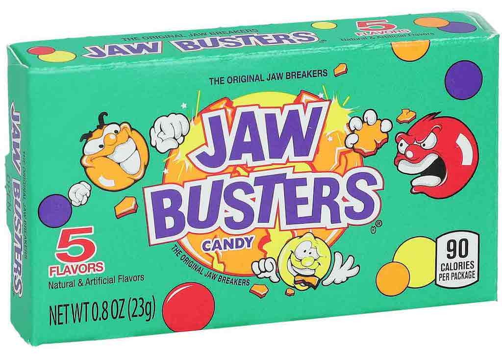 Jaw Busters Candy 5 Sorten 23 Gramm