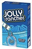 Jolly rancher Singles to go 6 Packets Blue Raspberry