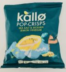 Kallo Pop-Crisps Sea Salt+Sicilian Lemin Vinegar Chips
