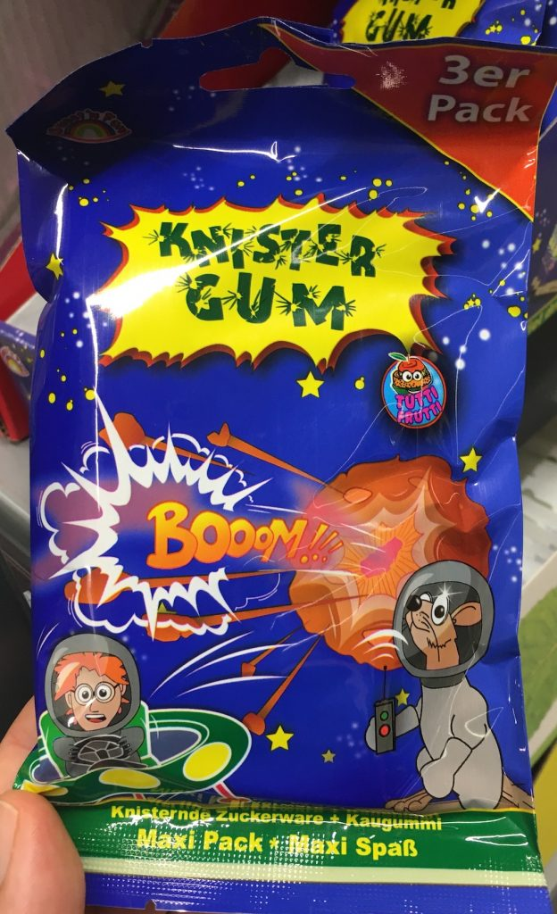 Knistergum Tutti Frutti Booom 3er Pack