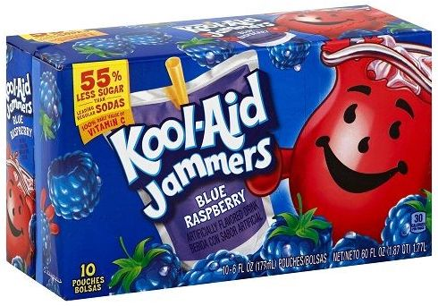 Kool-Aid Jammers Blue Raspberry Drink