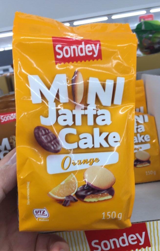Lidl Sondey Mini Jaffa Cake Orange