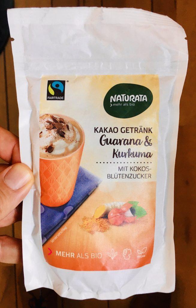 Naturata Kakao Getränk Guarana+Kurkuma mit Kokos-Blütenzucker