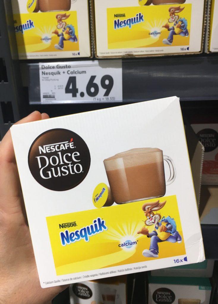 Nescafe Dolce Gusto Nesquik 16 Kapseln