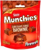 Nestlé Munchies chocolate Fudge Brownie 101g