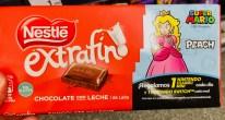 Nestlé extrafin Tafelschokolade mit Super Mario Werbung