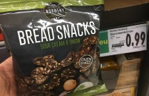 Nordthy Bread Snacks Sour Cream+Onion Ovenbaked Brotchips