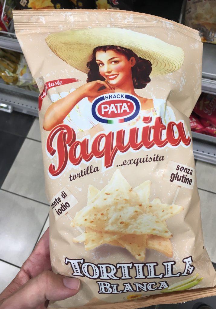 Pata Snack Paquita Tortilla Lnca Italien Frauenmotiv