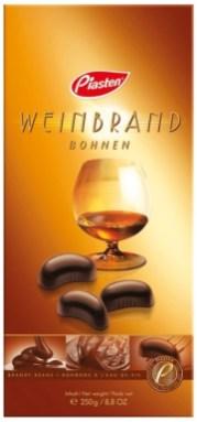 Piasten Weinbrand-Bohnen 250 Gramm