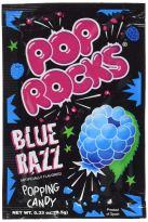 Pop Rocks Blue Razz Popping Candy 9-5 Gramm Blue Raspberry