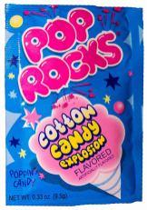 Pop Rocks Cotton Candy Explosion 9-5 Gramm
