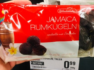 Schluckwerder Jamaica Rumkugeln umhüllt von Streuseln 250 Gramm