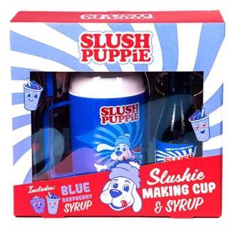 Slush Puppie Slushi Making Cup+Syrup Set Blue Raspberry