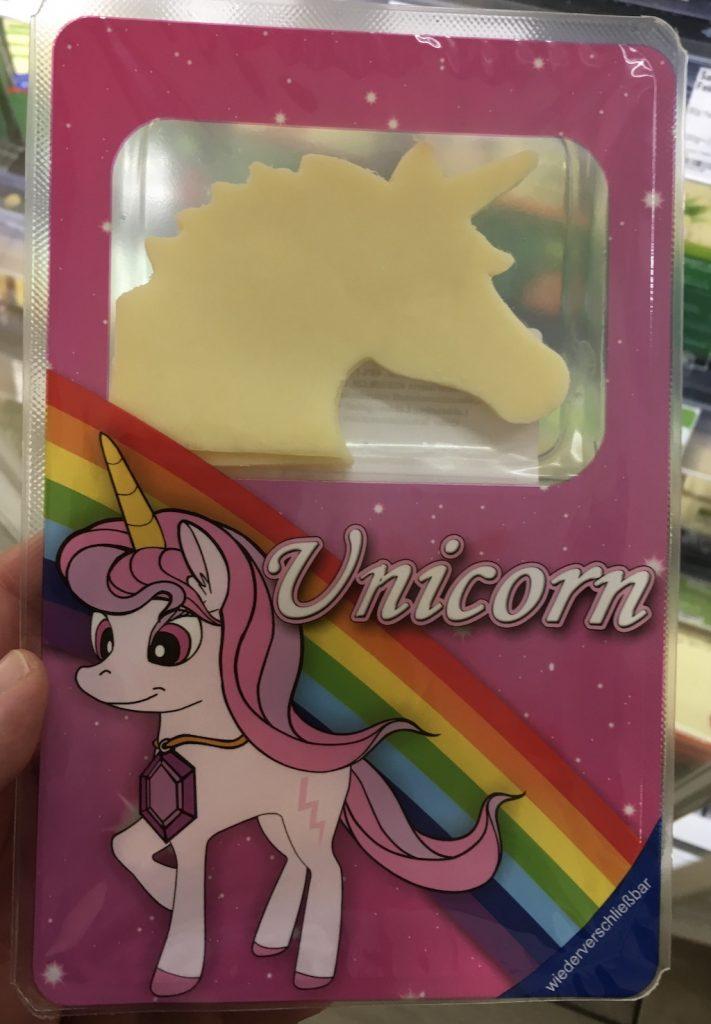 Unicorn-Scheibenkäse