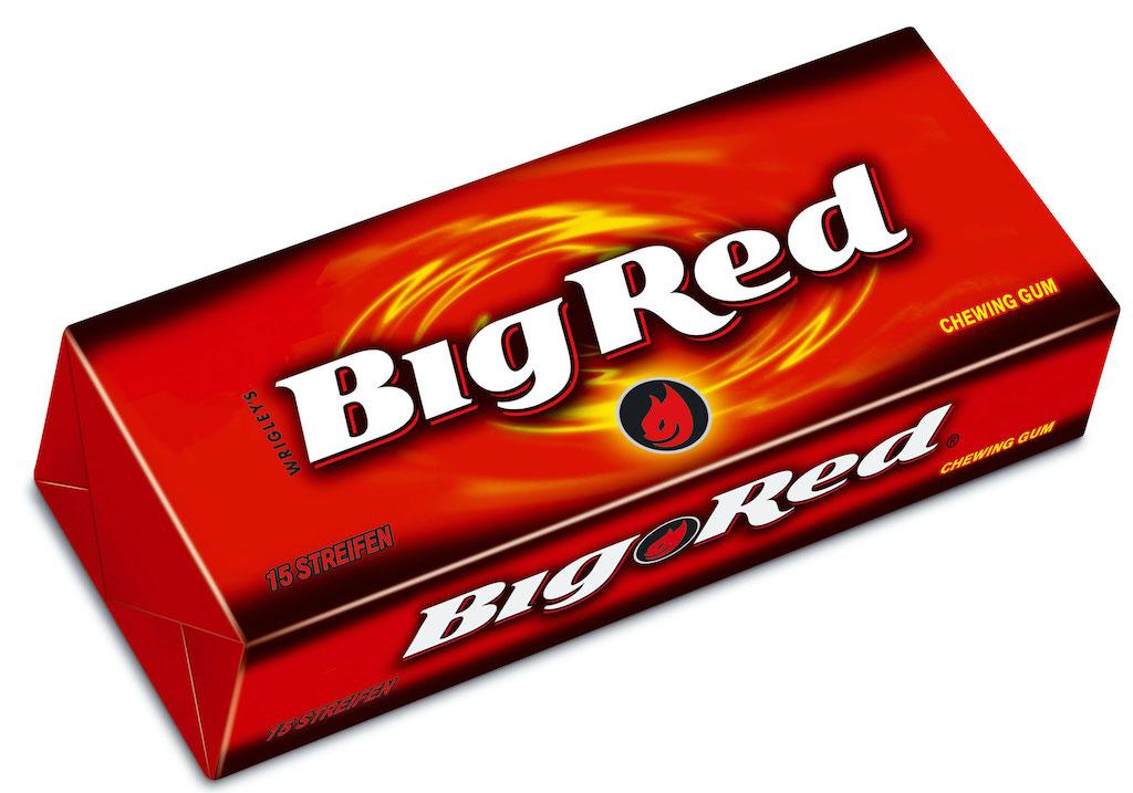 wrigley-big-red Kaugummi