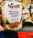 Aldi Lafinesse Feiner Teller Ochsenschwanzsupe Gebunden 13% Rindfleisch