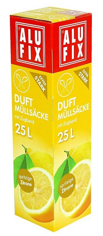 Alufix Duftmüllsäcke spritzige Zitrone