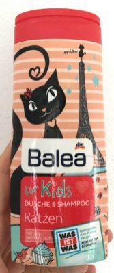 Balea für Kids Dusche+Shampoo Katzen mit süß-sanftem Duft