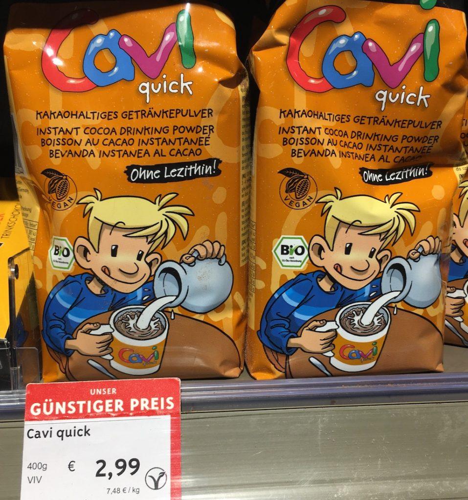 Caviquick Bio-Kakaopulver Ohne Lezithin 400 Gramm
